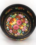 Decorative Hand Painted Wooden Candy Bowl Petrykivka Style 40202-1