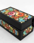 Decorative Hand Painted Wooden Chest Petrykivka Style 5.4 40906-1