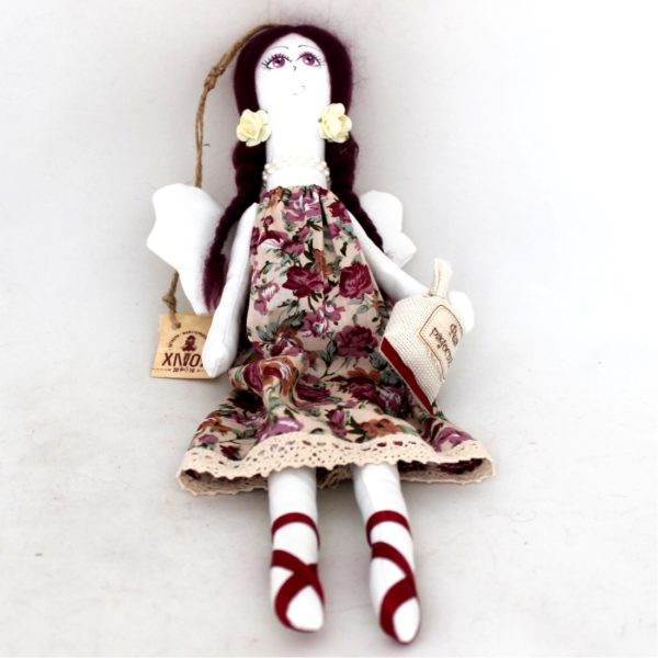 Fairy Rag Doll Hand Made Collectible 13.5 65312